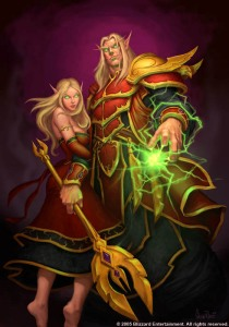 wow blood elf